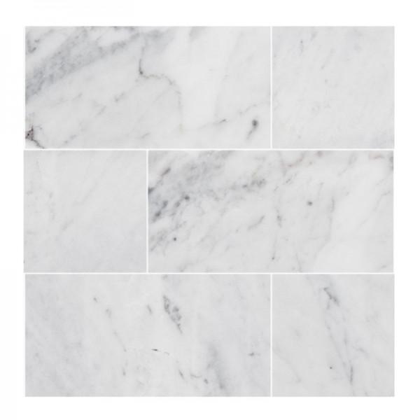 Bricmate Brick Carrara Mattslipad 73X148mm U-Serien Marmor