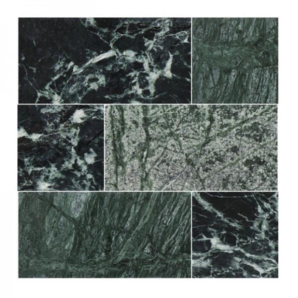 Bricmate Brick Green Polerad U-Serien Marmor