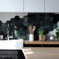 Bricmate Green Marble Mosaik