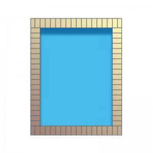 Rektangulära pooler
