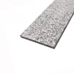 Fönsterbänk 160x20x2cm Silvery Grey Fönsterbänkar i granit