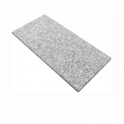 Poolkant Budget Silvery Grey granit Poolsten