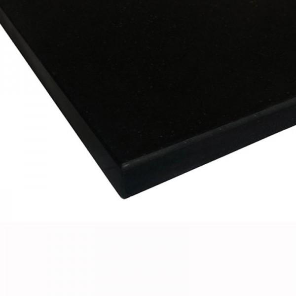 Bänkskiva Absolute Black Polerad 3cm (basiq) Granit