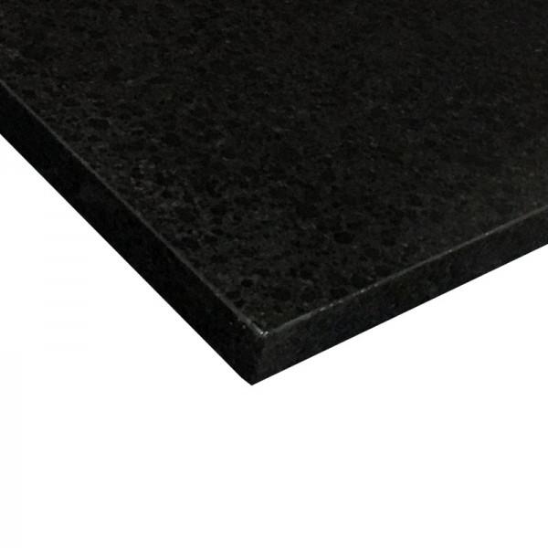 Bänkskiva Crystal Black Polerad 3cm (basiq) Granit