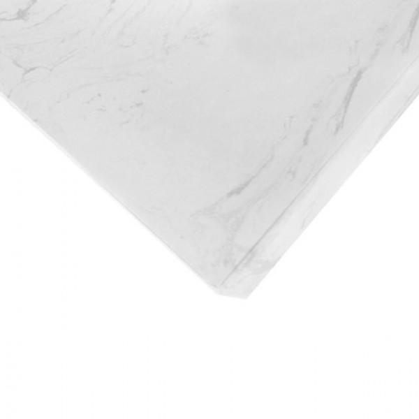 Volakas White Komposit - Polerad - Basiq Bänkskivor Basiqserien Komposit