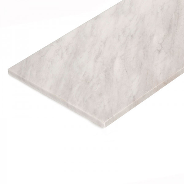 Volakas White 60x30cm Marmor