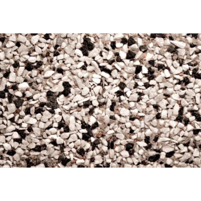 marksten svart vit marmor